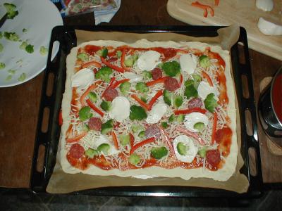 Pizza-Weblog-Wettbewerb von Uwe