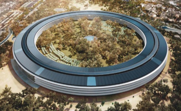 Apple Campus 2 August 2016 Construction Update