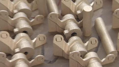 Stahlteile aus dem 3D-Druck