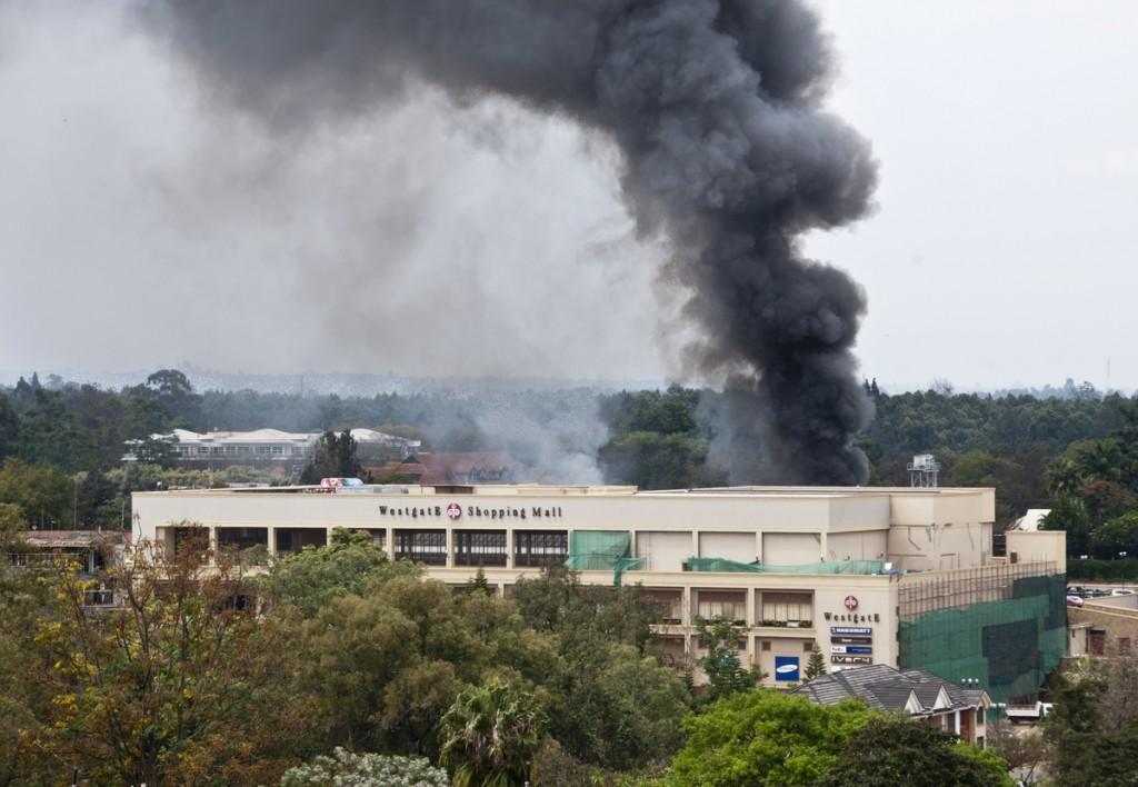 Terroranschlag auf das Überfall auf das Westgate-Einkaufszentrum von Samstag 21. September bis 24. September 2013. 2013
