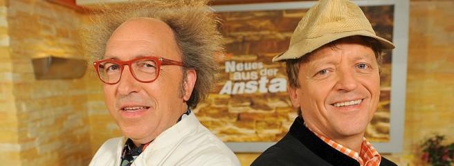 Urban Priol und Erwin Pelzig heute zum letzten mal als Gastgeber