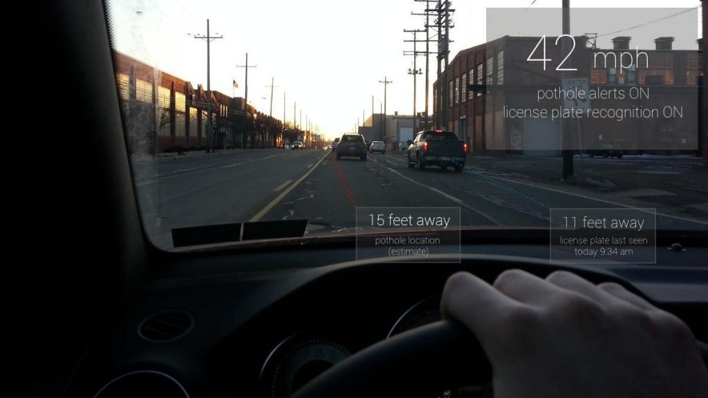 Symbolbild: so schön hätte die Zukunft mit Google Glass aussehen.