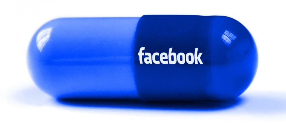 Facebook, die Pille für eine Social-Time.