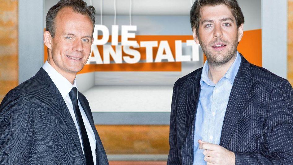 Die Anstalt mit den Gastgeber Claus von Wagner und Max Uthoff