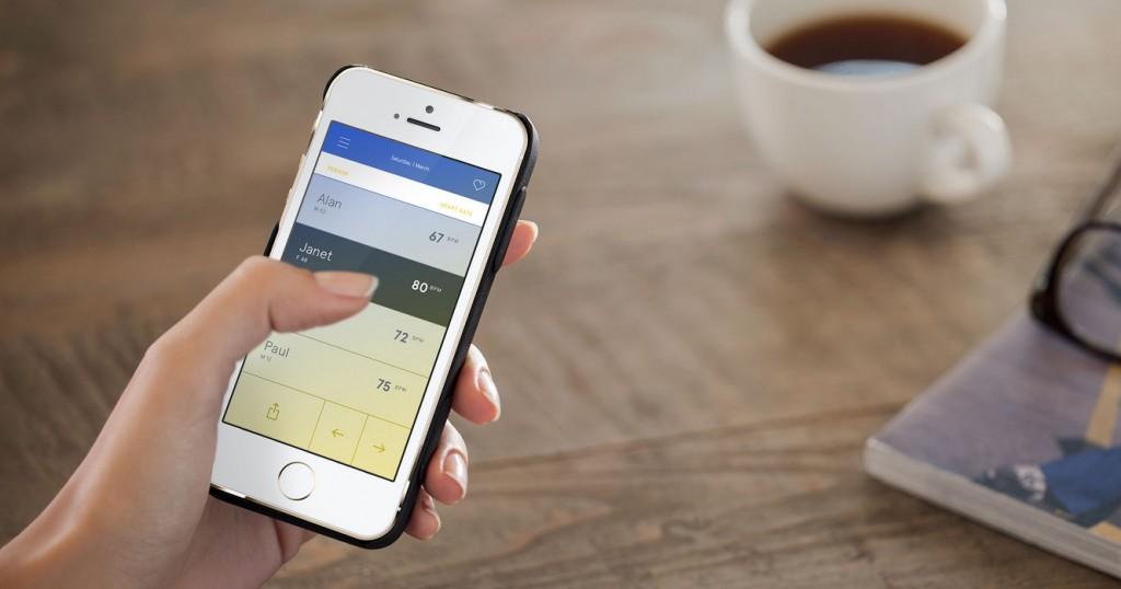 iPhone-Hülle und App und schon ist man im Bilde über den eigenen Gesundheitszustand.
