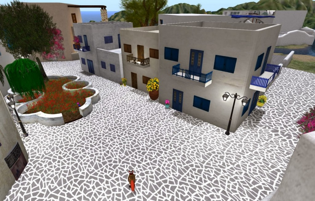 Symbolbild: Myconos Island auf Second Life