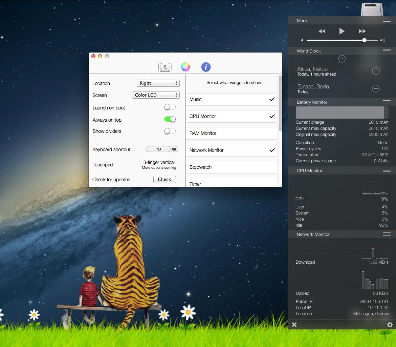 Mac-Tool: Control Center
