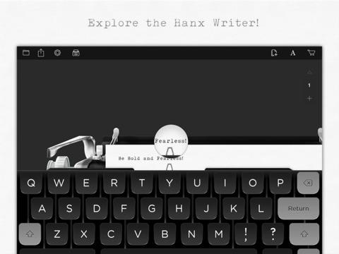 Hanx-Writer macht iPad zur Schreibmaschine