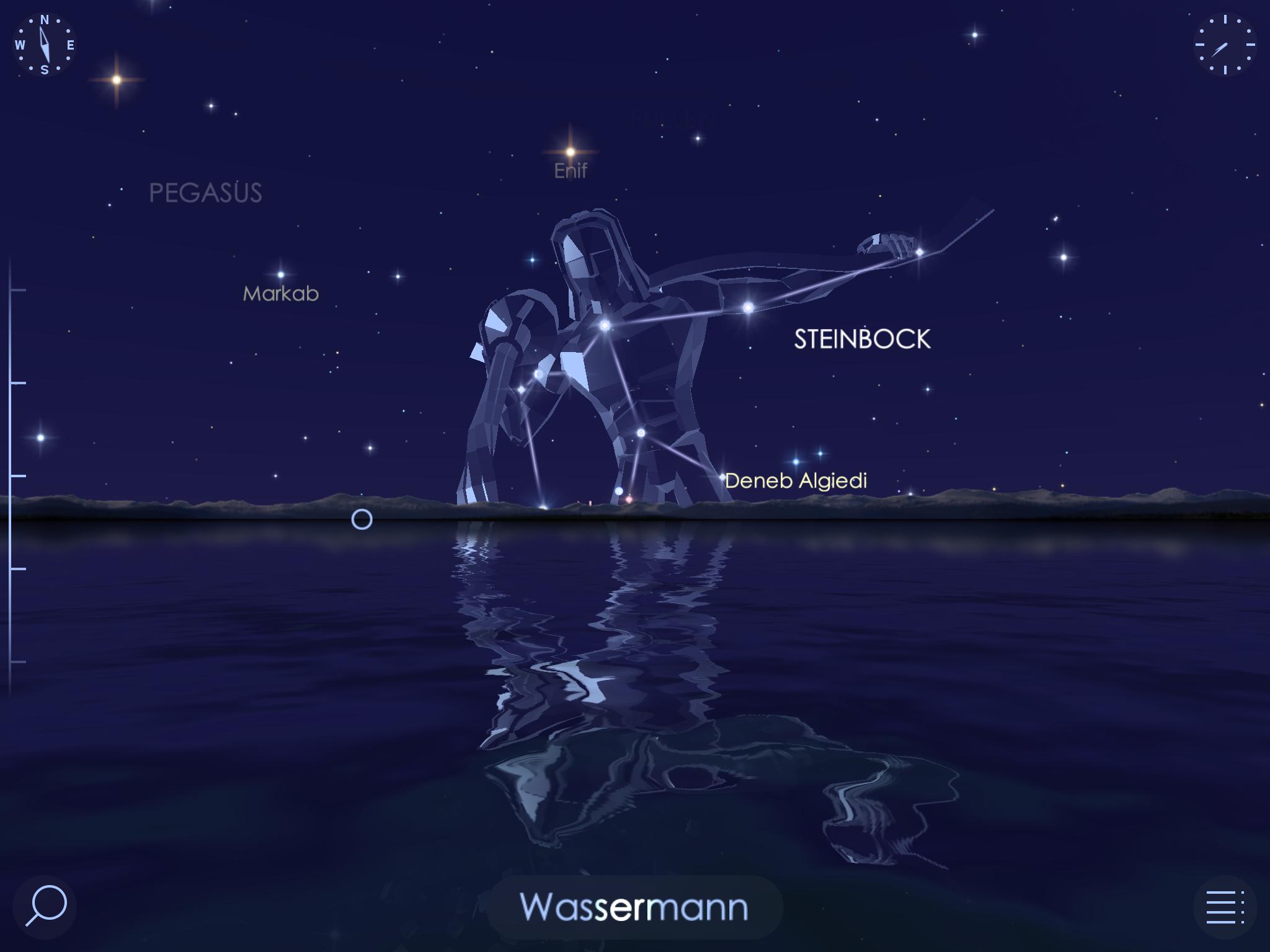 "Astronomie App ""Star Walk 2"" für iOS"