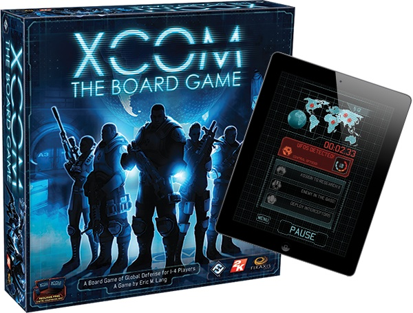 XCOM kommt als Brettspiel