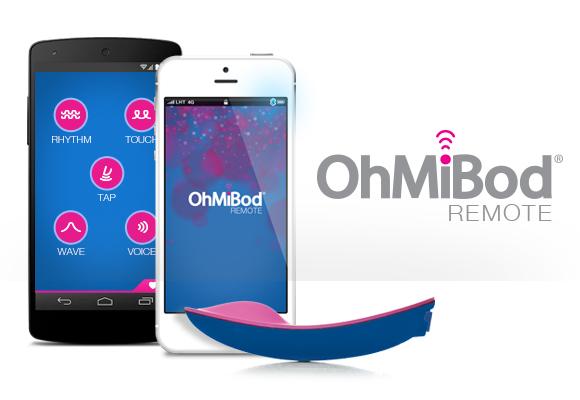 """Gadget mit Bluetooth für die Frau von heute: Ferngesteuerter Vibrator """"OhMiBod blueMotion"""""""
