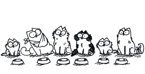 Simon's Cat mit Freunden