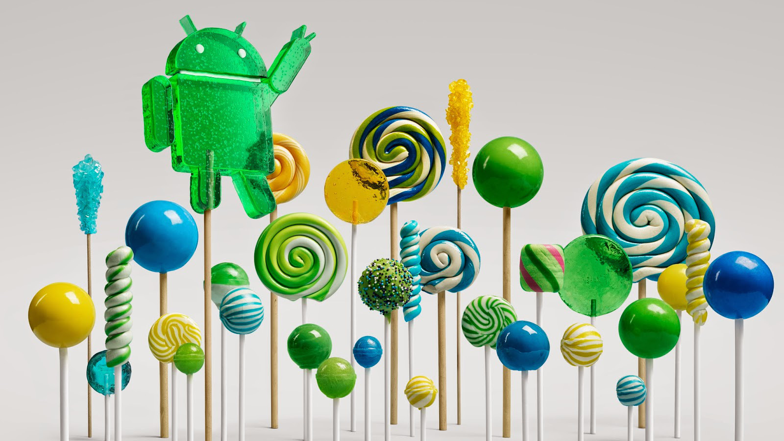 Google mit neuem Android 5.0, Nexus 7 und Nexus 9 plus Android TV