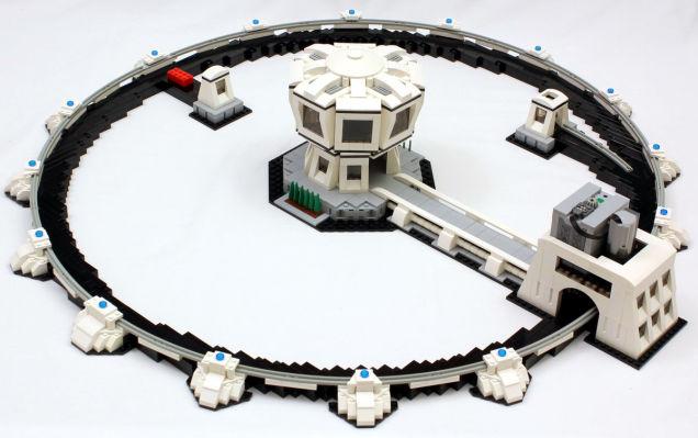 Lego Teilchenbeschleuniger