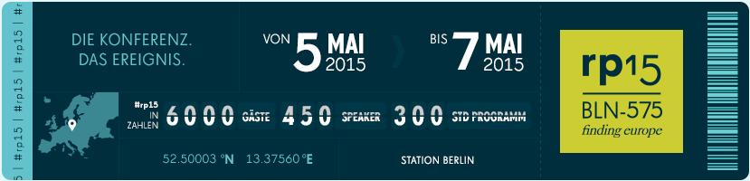re:publica 2015 Ticketverkauf gestartet