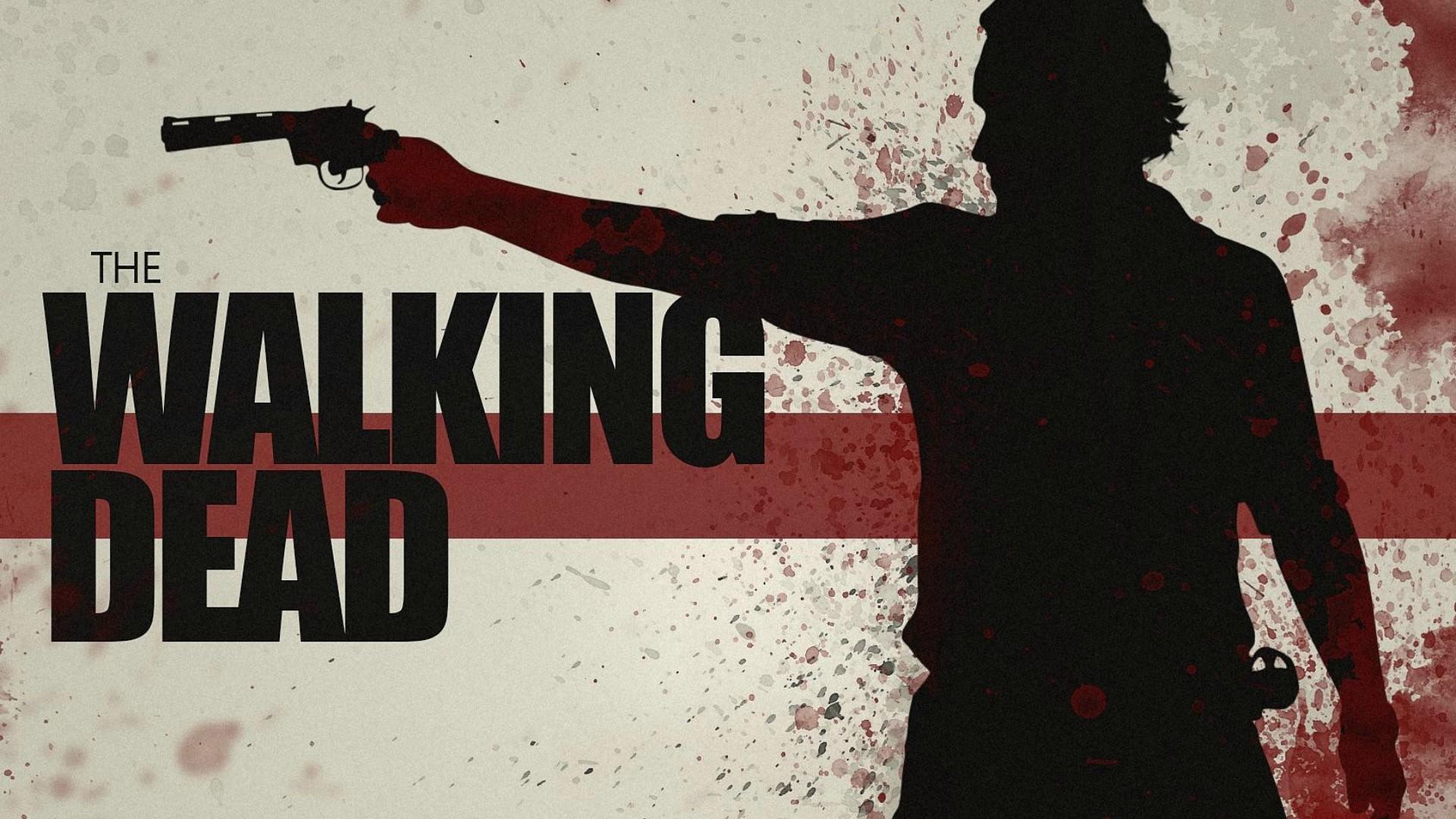 Gerade die angesagte Zombie-Serie im TV, bereits in Staffel 5.