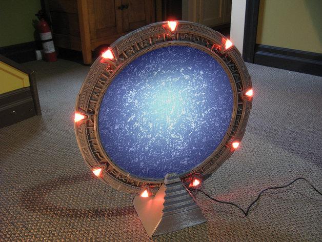 Funktionierendes Stargate aus 3D-Drucker