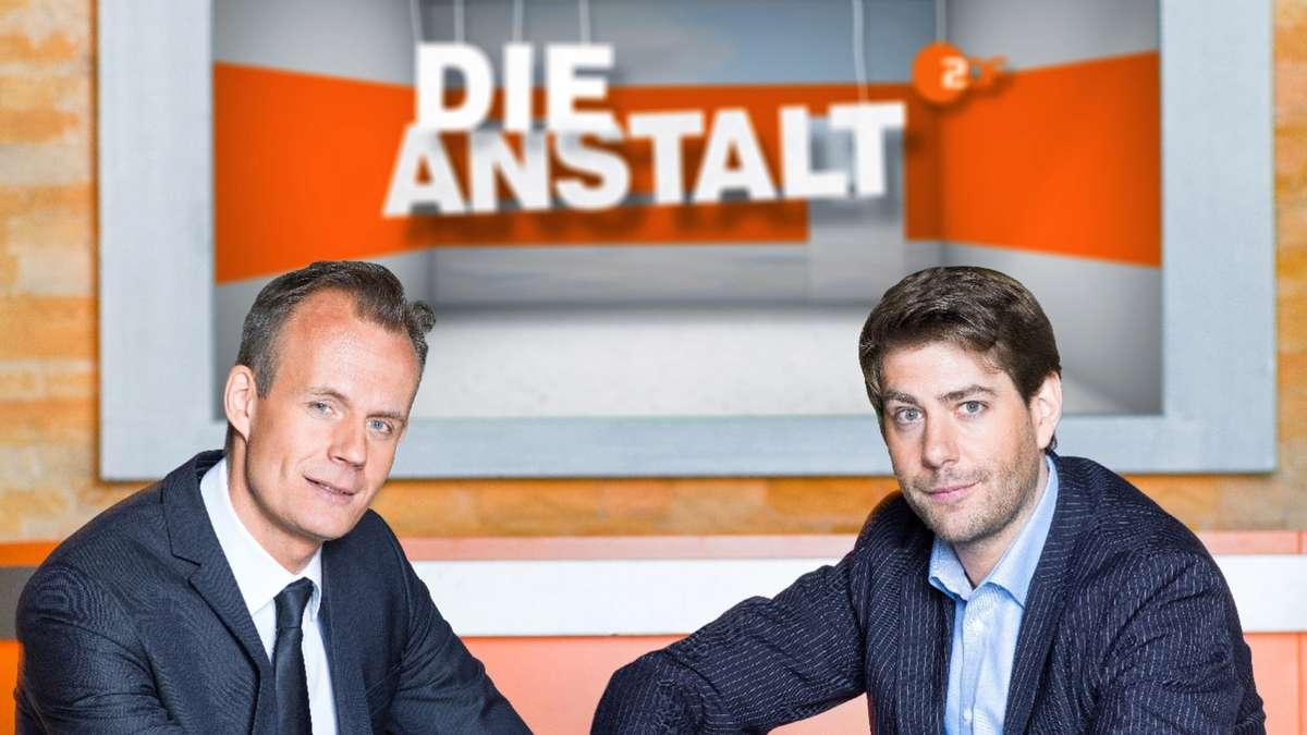 Die Gastgeber der Anstalt des ZDF: Max Uthoff und Claus von Wagner.