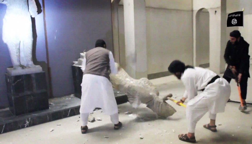 Terror tötet Kunst