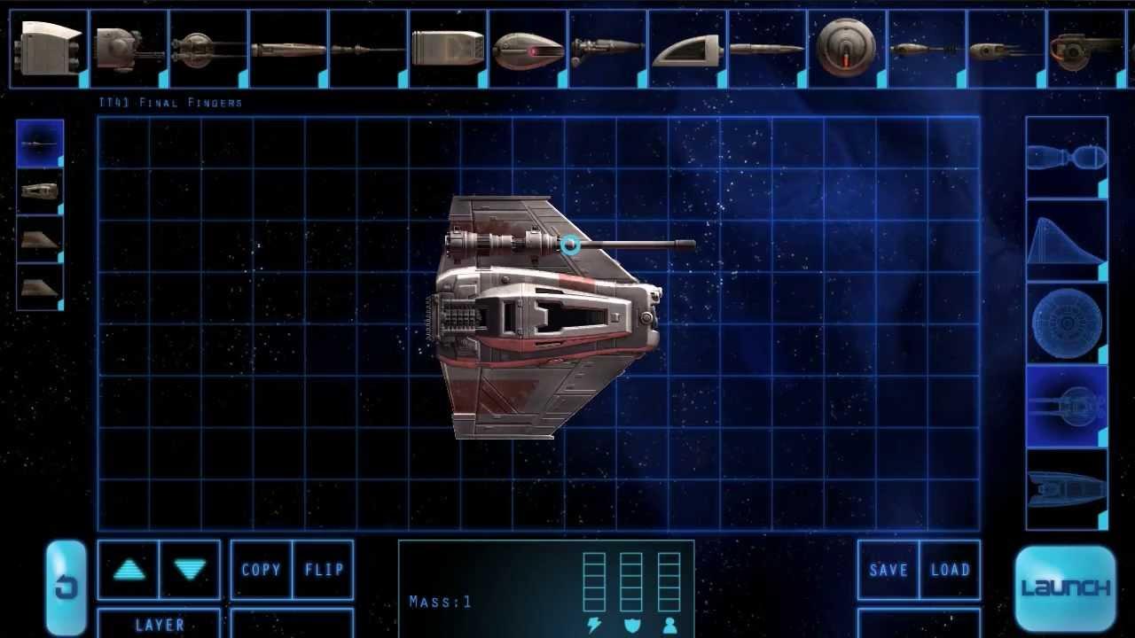 iOS-Spiel: Defect – Raumschiffe bauen und fliegen