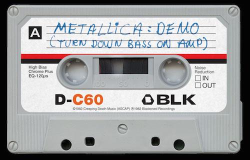 Metallica hat neues Album auf Musikkassette