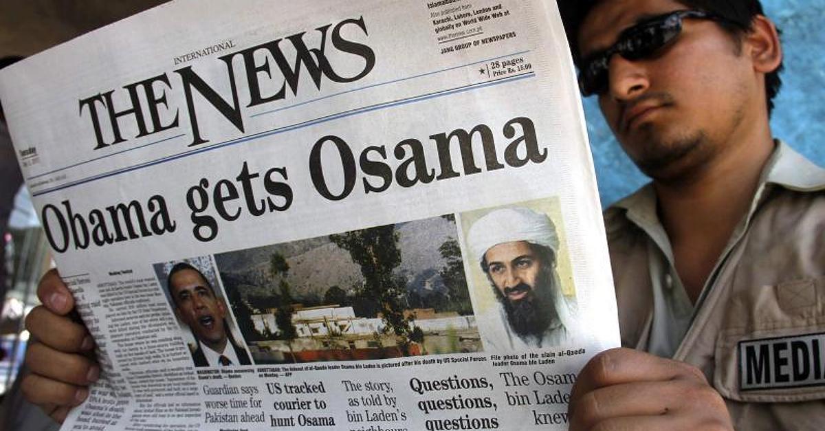 Half der BND bei Ergreifung von Osama Bin Laden?