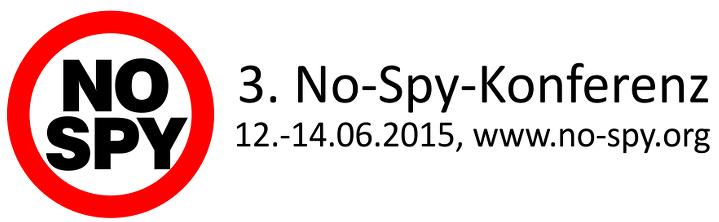 Ab Heute: No-Spy Konferenz in Stuttgart