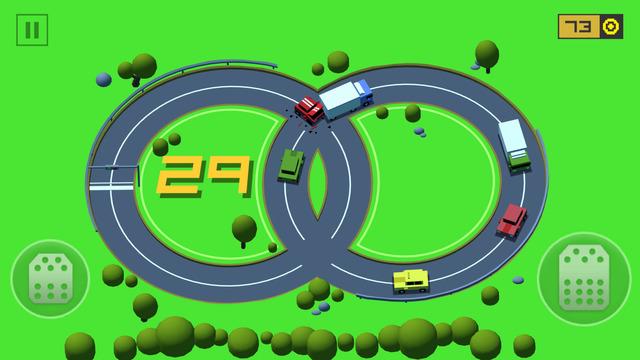 Spiele-App: Loop Drive – Crash Race