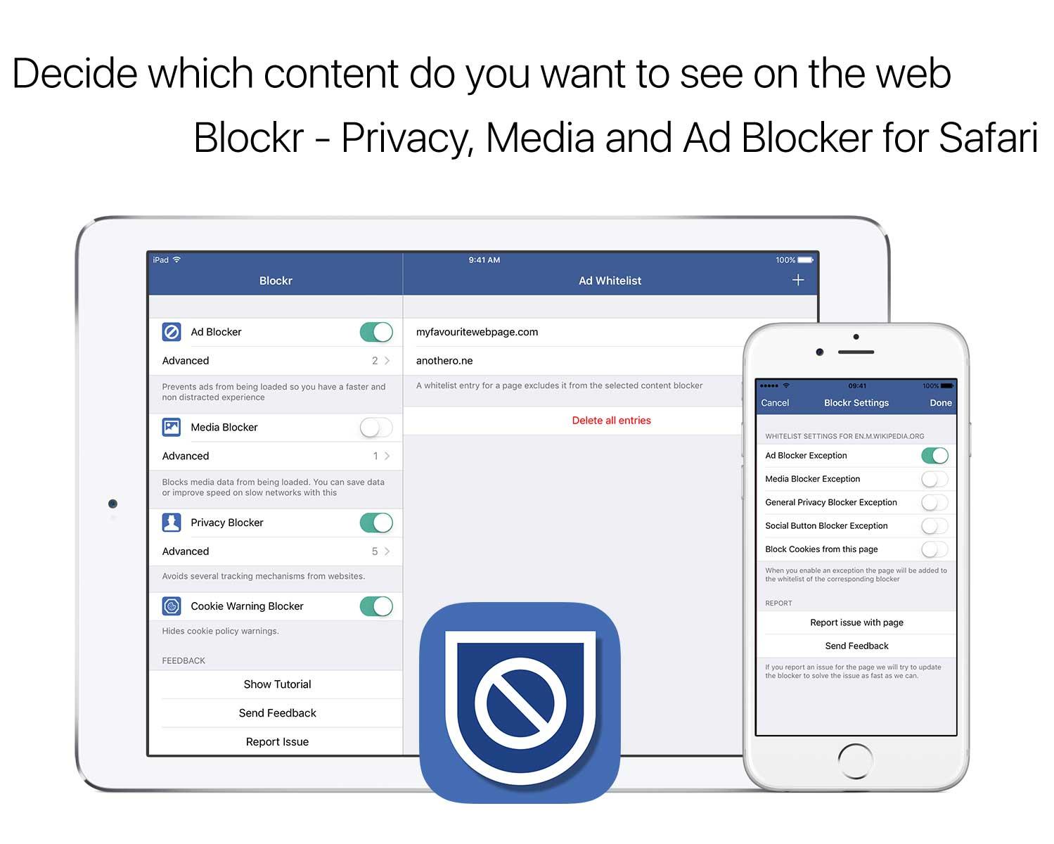 Werbeblocker für iOS Safari
