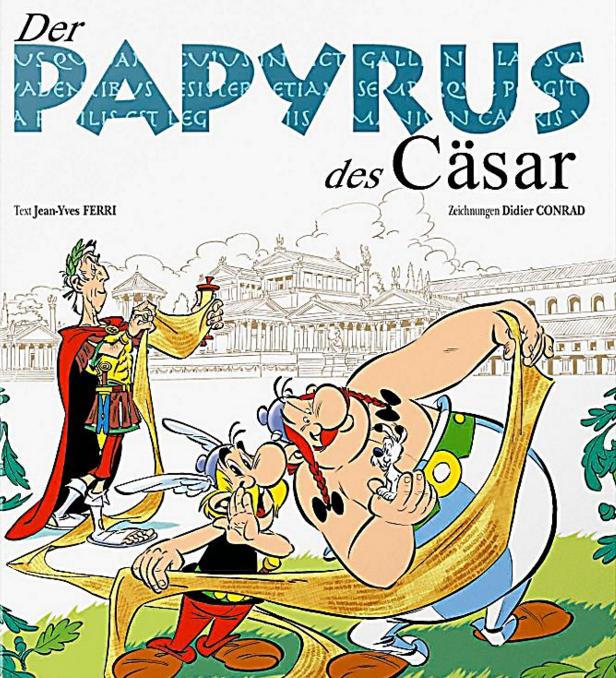 Asterix-Whistleblower: Der Papyrus des Cäsar