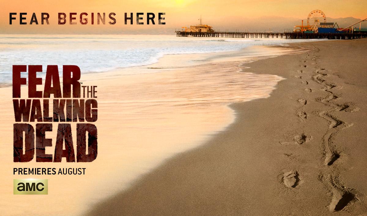 """Start 2. Staffel """"Fear the Walking Dead"""""""