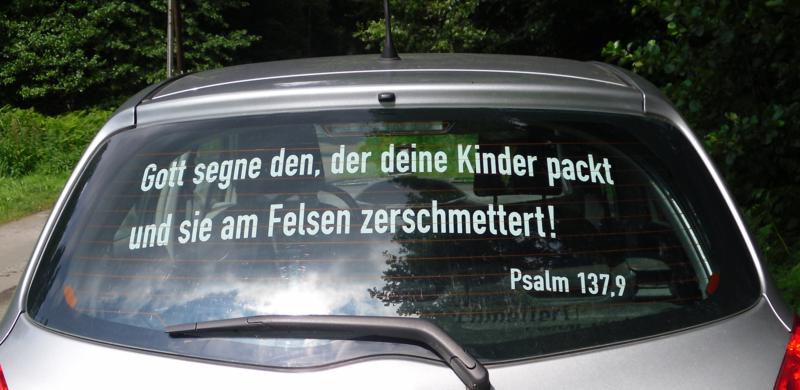 Gotteslästerung im Münsterland