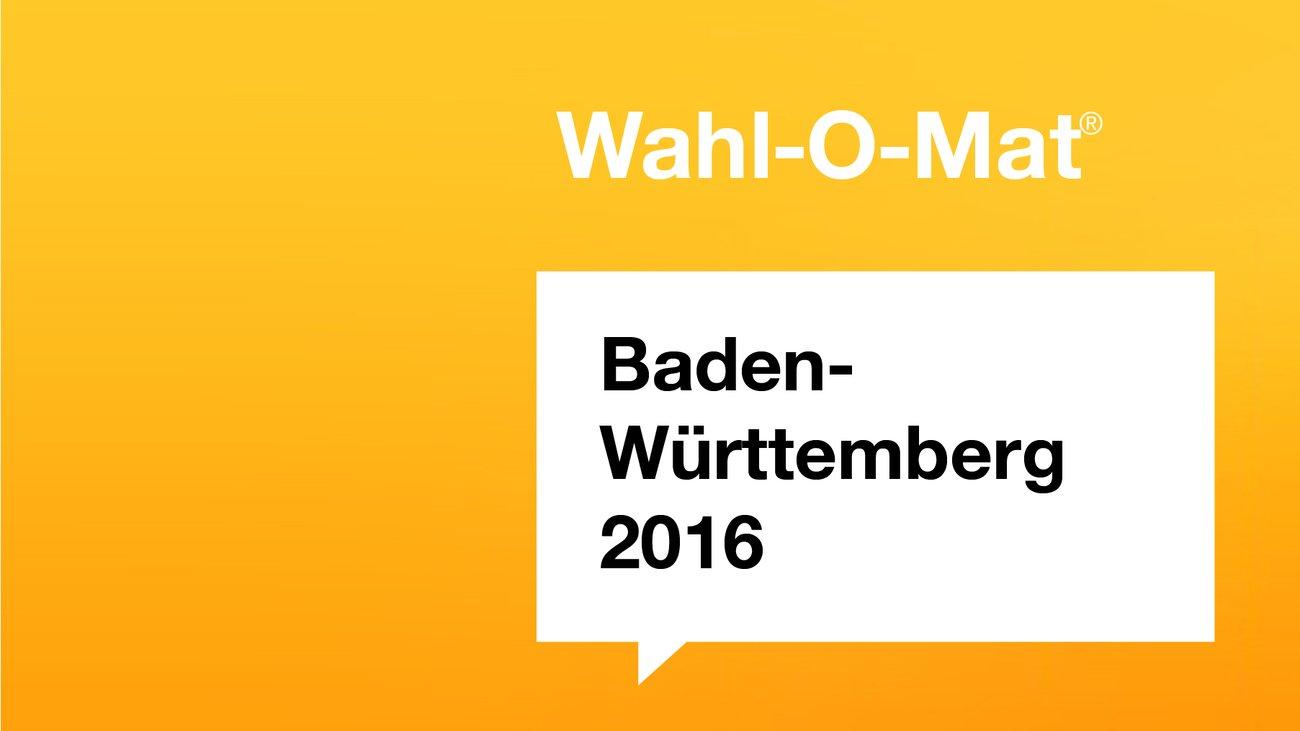 Wahl-O-Mat für Landtagswahlen 2016 in Baden-Württemberg