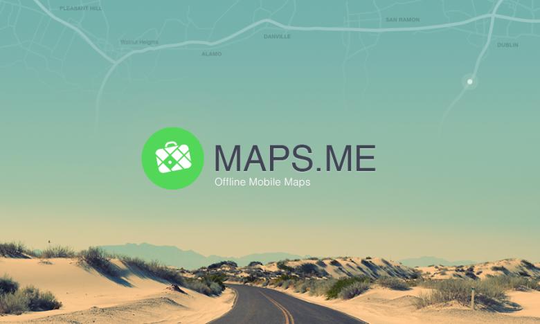 Navigations-App maps.me mit Editor
