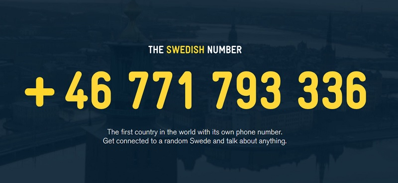 Better Call The Swedish Number