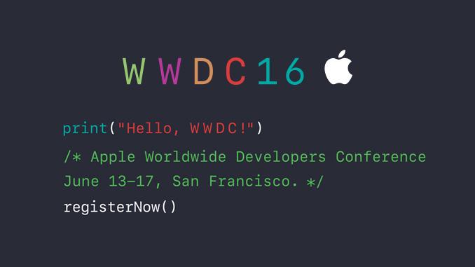 Apple Entwicklerkonferenz WWDC 2016