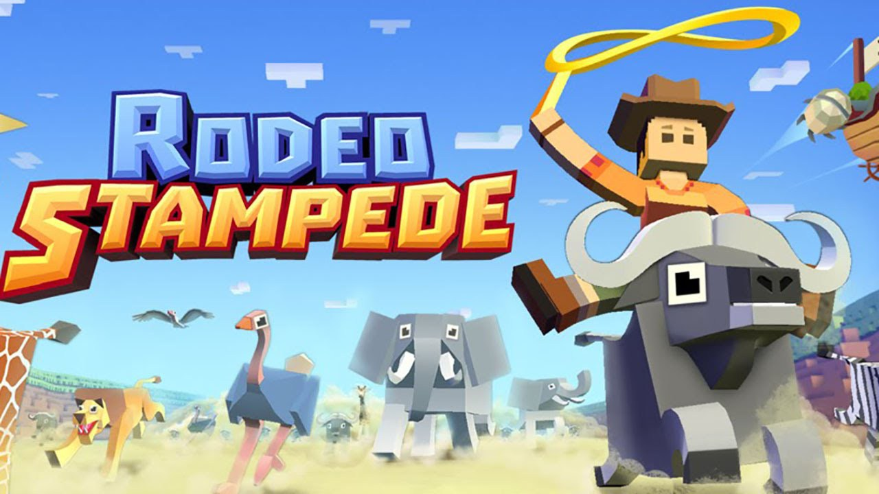 iOS-Spiele-Tipp: Rodeo Stampede