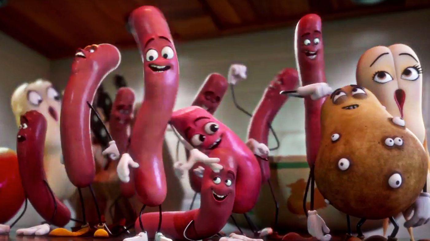 Trailer-Tipp: Sausage Party – Gemüse- und Würstchenmord