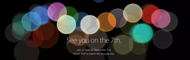 Apple Special Event September 2016