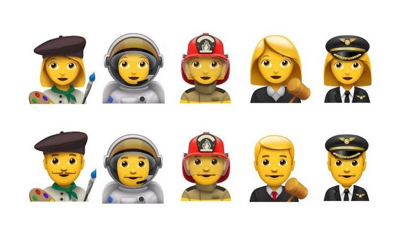 Neue Emojie-Berufe