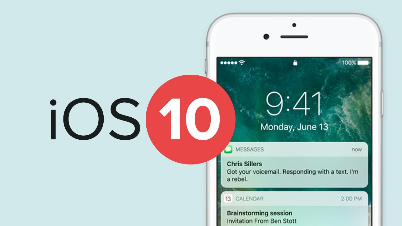 iOS 10 lässt Geräte einfrieren