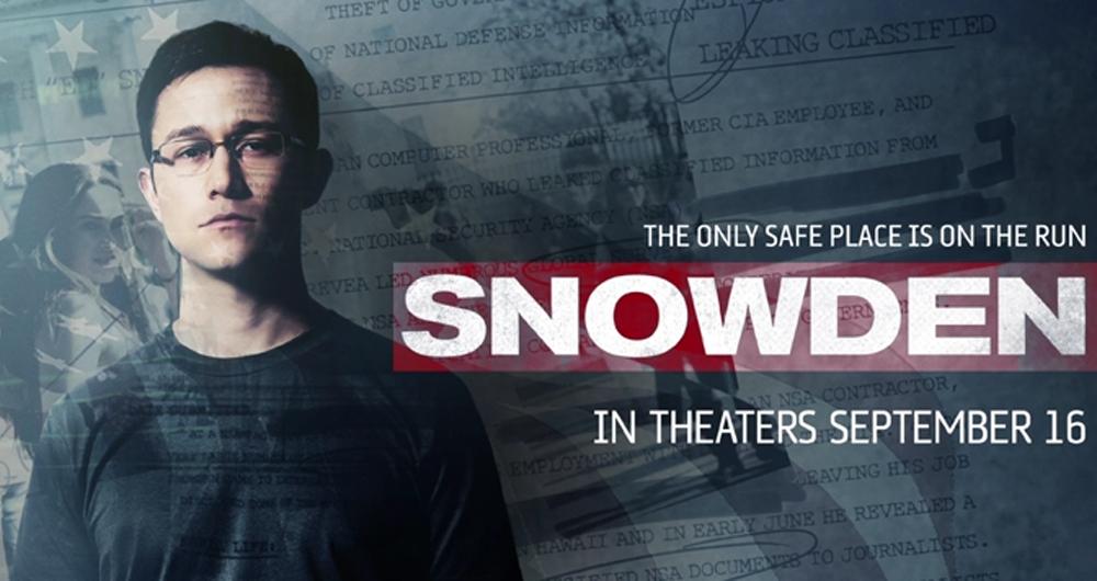Snowden: der sicherste Ort ist das Kino