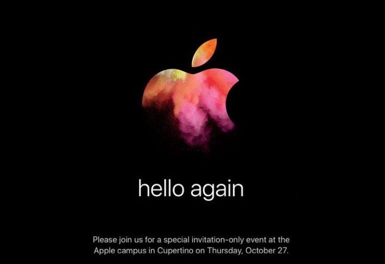 Apple Special Event Oktober 2016