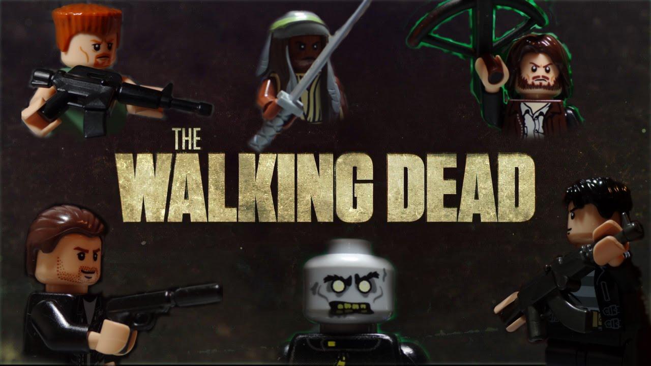 The Walking Dead Staffelauftakt mit LEGO-Männchen