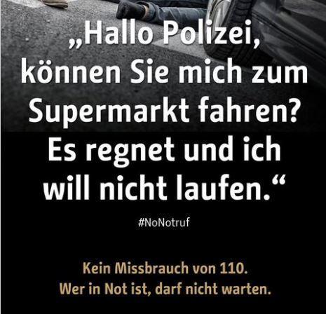 Die Berliner-Polizei und der Notruf