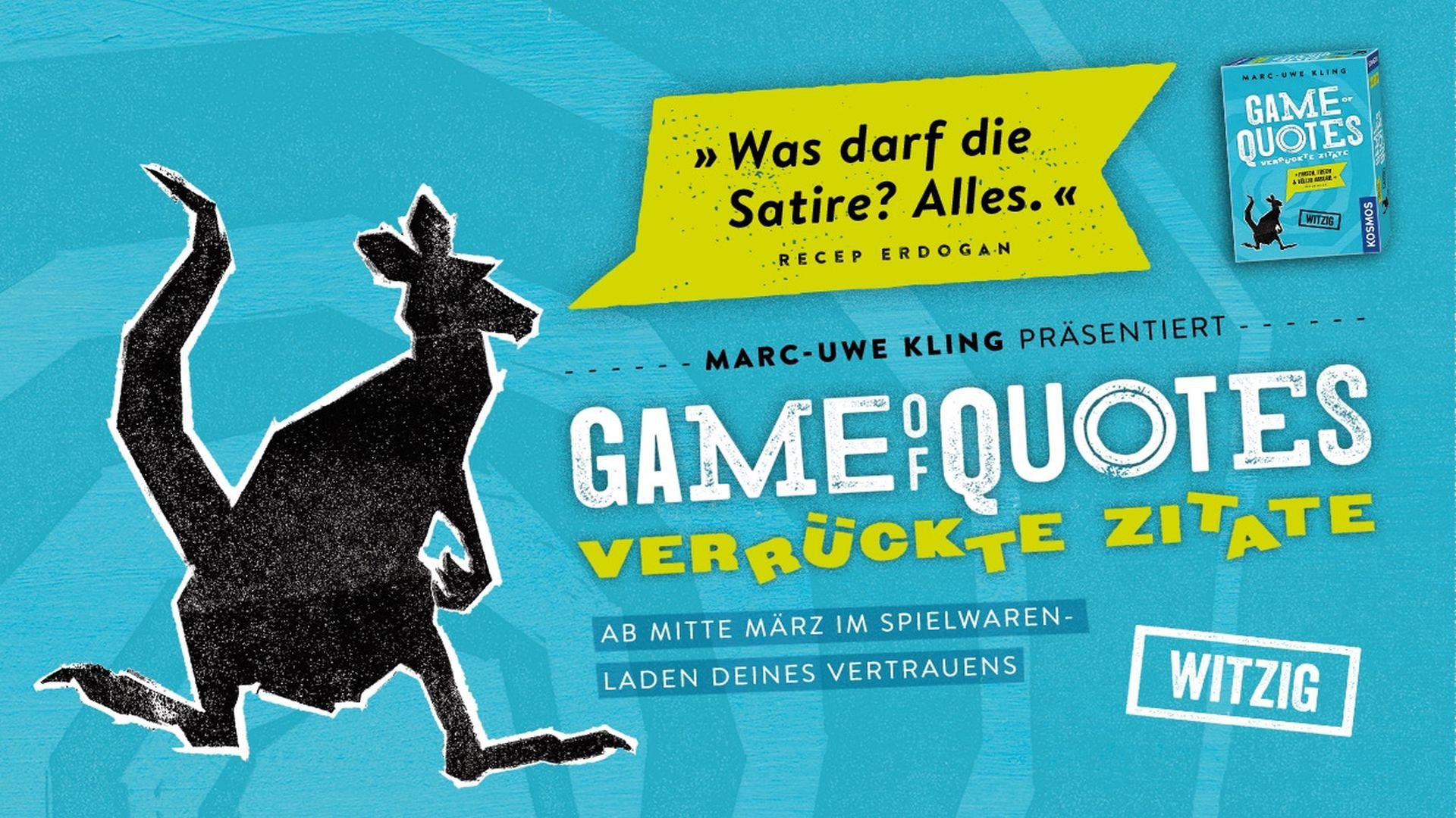 Kartenspiel-Tipp: Game Of Quotes