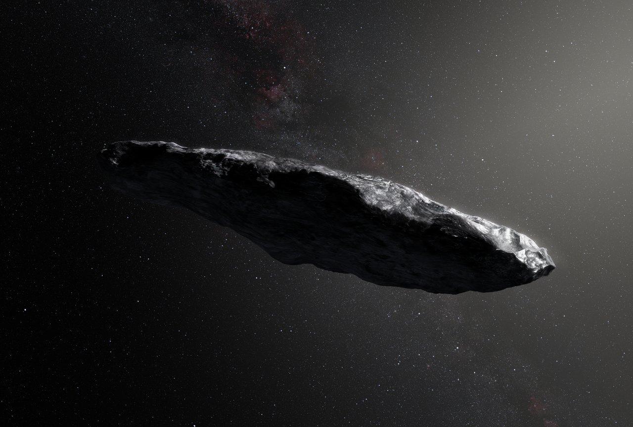 Asteroid ʻOumuamua