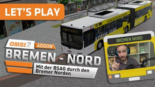 Omnibussimulator 2 Bremen-Nord Add-On