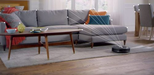 Roomba macht bald WLAN-Empfangs-Karte der Wohnung