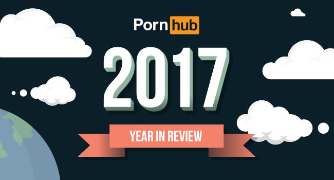 Das Jahr 2017 von Pornhub